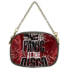 Panic At The Disco Poster Chain Purses (one Side)  by Onesevenart