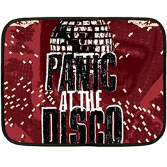 Panic At The Disco Poster Double Sided Fleece Blanket (mini)  by Onesevenart