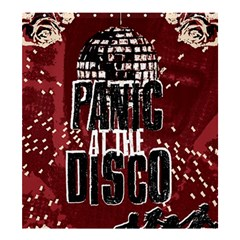 Panic At The Disco Poster Shower Curtain 66  X 72  (large)  by Onesevenart