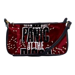 Panic At The Disco Poster Shoulder Clutch Bags by Onesevenart