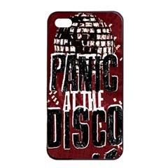 Panic At The Disco Poster Apple Iphone 4/4s Seamless Case (black) by Onesevenart