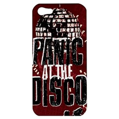 Panic At The Disco Poster Apple Iphone 5 Hardshell Case by Onesevenart
