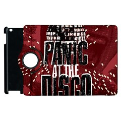Panic At The Disco Poster Apple Ipad 2 Flip 360 Case by Onesevenart