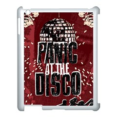 Panic At The Disco Poster Apple Ipad 3/4 Case (white) by Onesevenart
