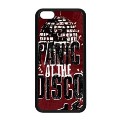Panic At The Disco Poster Apple Iphone 5c Seamless Case (black) by Onesevenart