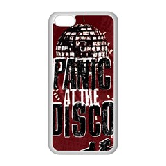 Panic At The Disco Poster Apple Iphone 5c Seamless Case (white) by Onesevenart