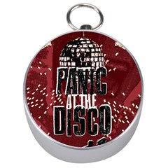 Panic At The Disco Poster Silver Compasses by Onesevenart