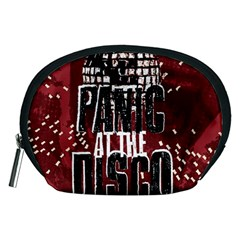 Panic At The Disco Poster Accessory Pouches (medium)  by Onesevenart