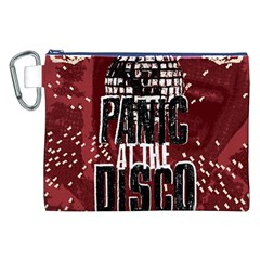 Panic At The Disco Poster Canvas Cosmetic Bag (xxl) by Onesevenart