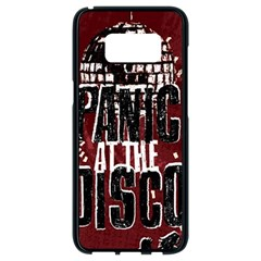 Panic At The Disco Poster Samsung Galaxy S8 Black Seamless Case by Onesevenart