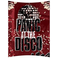 Panic At The Disco Poster Back Support Cushion by Onesevenart