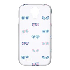 Cute Sexy Funny Sunglasses Kids Pink Blue Samsung Galaxy S4 Classic Hardshell Case (pc+silicone) by Mariart