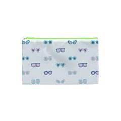 Cute Sexy Funny Sunglasses Kids Pink Blue Cosmetic Bag (xs) by Mariart