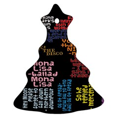 Panic At The Disco Northern Downpour Lyrics Metrolyrics Christmas Tree Ornament (two Sides) by Onesevenart