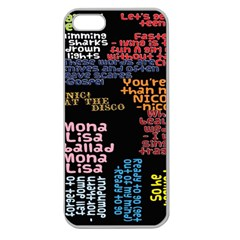 Panic At The Disco Northern Downpour Lyrics Metrolyrics Apple Seamless Iphone 5 Case (clear) by Onesevenart
