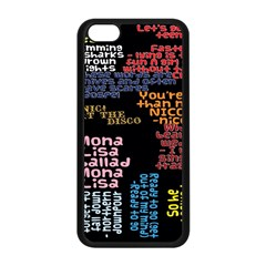 Panic At The Disco Northern Downpour Lyrics Metrolyrics Apple Iphone 5c Seamless Case (black) by Onesevenart