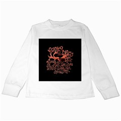 Panic At The Disco   Lying Is The Most Fun A Girl Have Without Taking Her Clothes Kids Long Sleeve T Shirts by Onesevenart