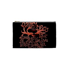 Panic At The Disco   Lying Is The Most Fun A Girl Have Without Taking Her Clothes Cosmetic Bag (small)  by Onesevenart