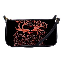Panic At The Disco   Lying Is The Most Fun A Girl Have Without Taking Her Clothes Shoulder Clutch Bags by Onesevenart