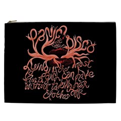 Panic At The Disco   Lying Is The Most Fun A Girl Have Without Taking Her Clothes Cosmetic Bag (xxl)  by Onesevenart