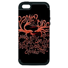 Panic At The Disco   Lying Is The Most Fun A Girl Have Without Taking Her Clothes Apple Iphone 5 Hardshell Case (pc+silicone) by Onesevenart