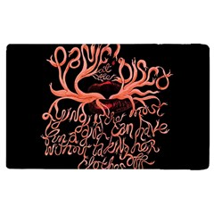 Panic At The Disco   Lying Is The Most Fun A Girl Have Without Taking Her Clothes Apple Ipad 2 Flip Case by Onesevenart
