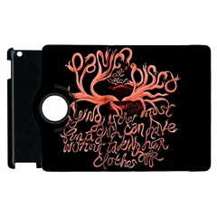 Panic At The Disco   Lying Is The Most Fun A Girl Have Without Taking Her Clothes Apple Ipad 2 Flip 360 Case by Onesevenart