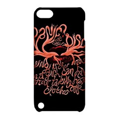 Panic At The Disco   Lying Is The Most Fun A Girl Have Without Taking Her Clothes Apple Ipod Touch 5 Hardshell Case With Stand by Onesevenart