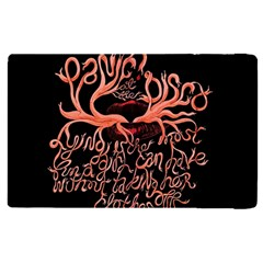 Panic At The Disco   Lying Is The Most Fun A Girl Have Without Taking Her Clothes Apple Ipad Pro 9 7   Flip Case by Onesevenart