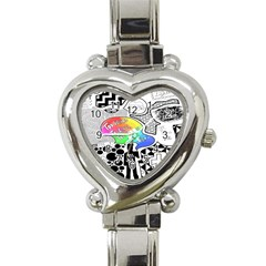 Panic ! At The Disco Heart Italian Charm Watch by Onesevenart
