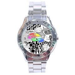 Panic ! At The Disco Stainless Steel Analogue Watch by Onesevenart
