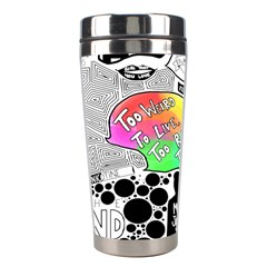 Panic ! At The Disco Stainless Steel Travel Tumblers by Onesevenart