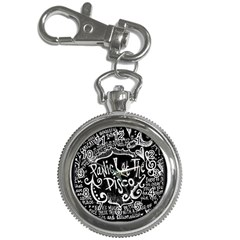 Panic ! At The Disco Lyric Quotes Key Chain Watches by Onesevenart