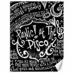 Panic ! At The Disco Lyric Quotes Canvas 36  X 48   by Onesevenart