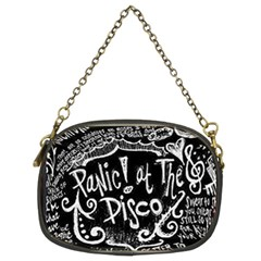 Panic ! At The Disco Lyric Quotes Chain Purses (two Sides)  by Onesevenart