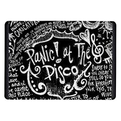 Panic ! At The Disco Lyric Quotes Samsung Galaxy Tab 10 1  P7500 Flip Case by Onesevenart