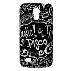 Panic ! At The Disco Lyric Quotes Galaxy S4 Mini by Onesevenart