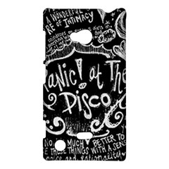 Panic ! At The Disco Lyric Quotes Nokia Lumia 720 by Onesevenart
