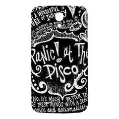 Panic ! At The Disco Lyric Quotes Samsung Galaxy Mega I9200 Hardshell Back Case by Onesevenart