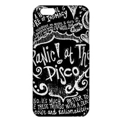 Panic ! At The Disco Lyric Quotes Iphone 6 Plus/6s Plus Tpu Case by Onesevenart