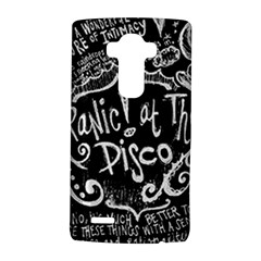 Panic ! At The Disco Lyric Quotes Lg G4 Hardshell Case by Onesevenart
