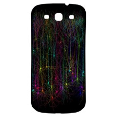 Brain Cell Dendrites Samsung Galaxy S3 S Iii Classic Hardshell Back Case by Mariart