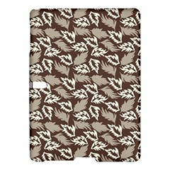 Dried Leaves Grey White Camuflage Summer Samsung Galaxy Tab S (10 5 ) Hardshell Case  by Mariart