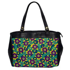 Discrete State Turing Pattern Polka Dots Green Purple Yellow Rainbow Sexy Beauty Office Handbags by Mariart