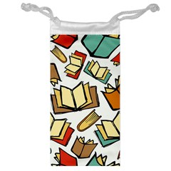 Friends Library Lobby Book Sale Jewelry Bag by Mariart