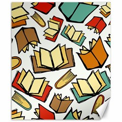 Friends Library Lobby Book Sale Canvas 8  X 10  by Mariart
