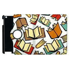 Friends Library Lobby Book Sale Apple Ipad 3/4 Flip 360 Case by Mariart