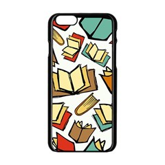 Friends Library Lobby Book Sale Apple Iphone 6/6s Black Enamel Case by Mariart