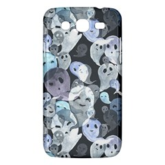 Ghosts Blue Sinister Helloween Face Mask Samsung Galaxy Mega 5 8 I9152 Hardshell Case  by Mariart