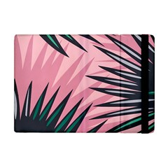 Graciela Detail Petticoat Palm Pink Green Apple Ipad Mini Flip Case by Mariart